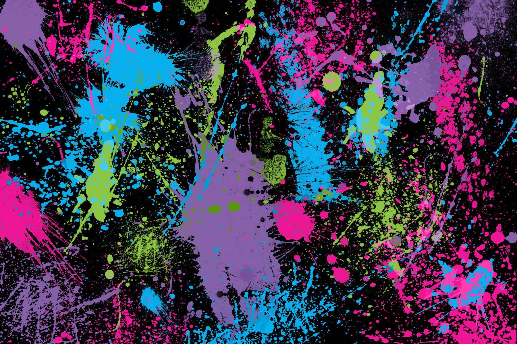 Paint Splat Wallpapers