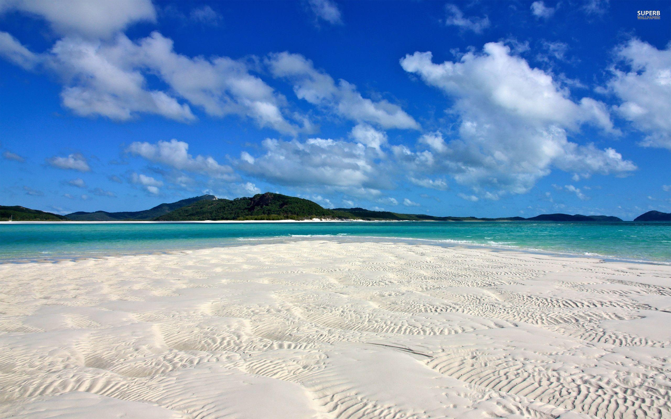 white sand beach wallpapers