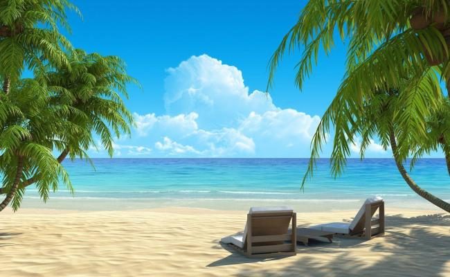 Beach Paradise Wallpapers Wallpaper Cave