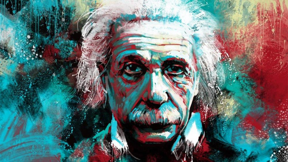 Image result for albert einstein wallpaper