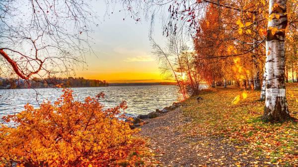 autumn landscape wallpapers - wallpaper