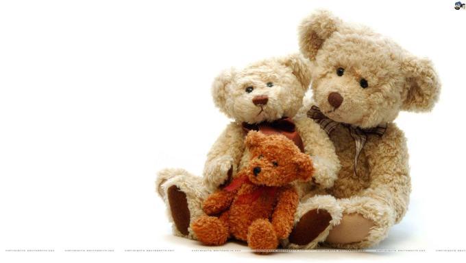 Cute Teddy Bear Couple Wallpaper Allofthepicts Com