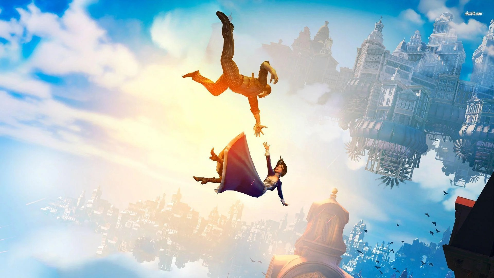 Bildresultat för bioshock infinite wallpaper
