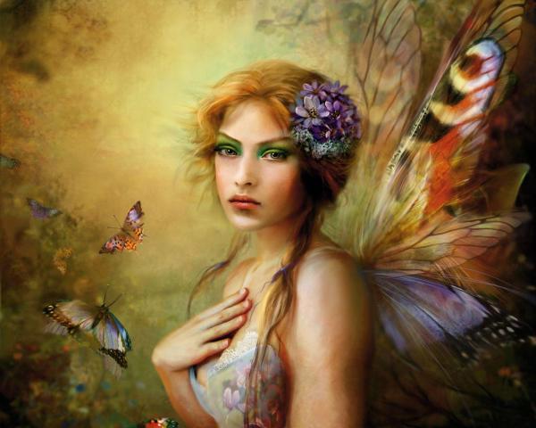 Fantasy Fairies Wallpapers - Wallpaper Cave