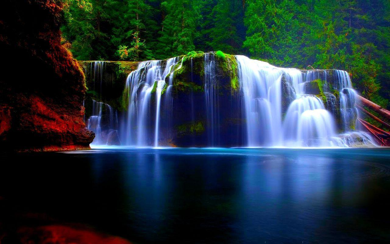 Fall Live Wallpaper For Pc Waterfall Hd Wallpapers Wallpaper Cave