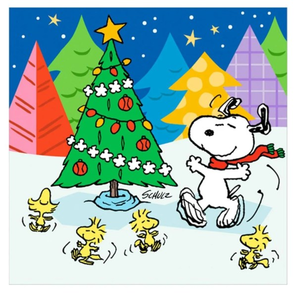 snoopy christmas backgrounds