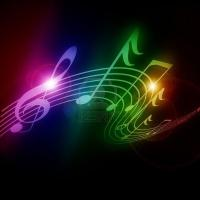 Colorful Neon Music Notes | www.imgkid.com - The Image Kid ...