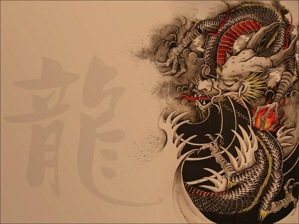 Chinese Dragon Desktop Wallpaper
