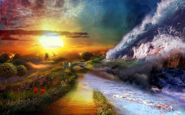 Beautiful Landscape of Dreams
