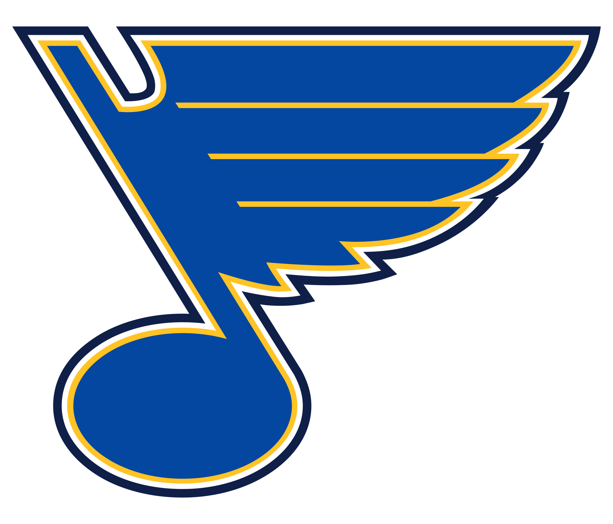 Image result for St Louis Blues logo