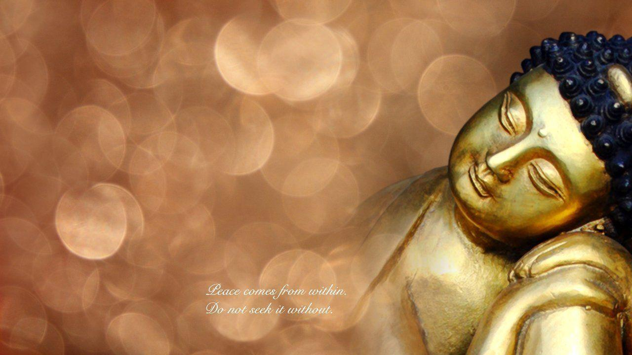Buddha Hd Wallpapers With Quotes Peace Wallpapers Wallpaper Cave