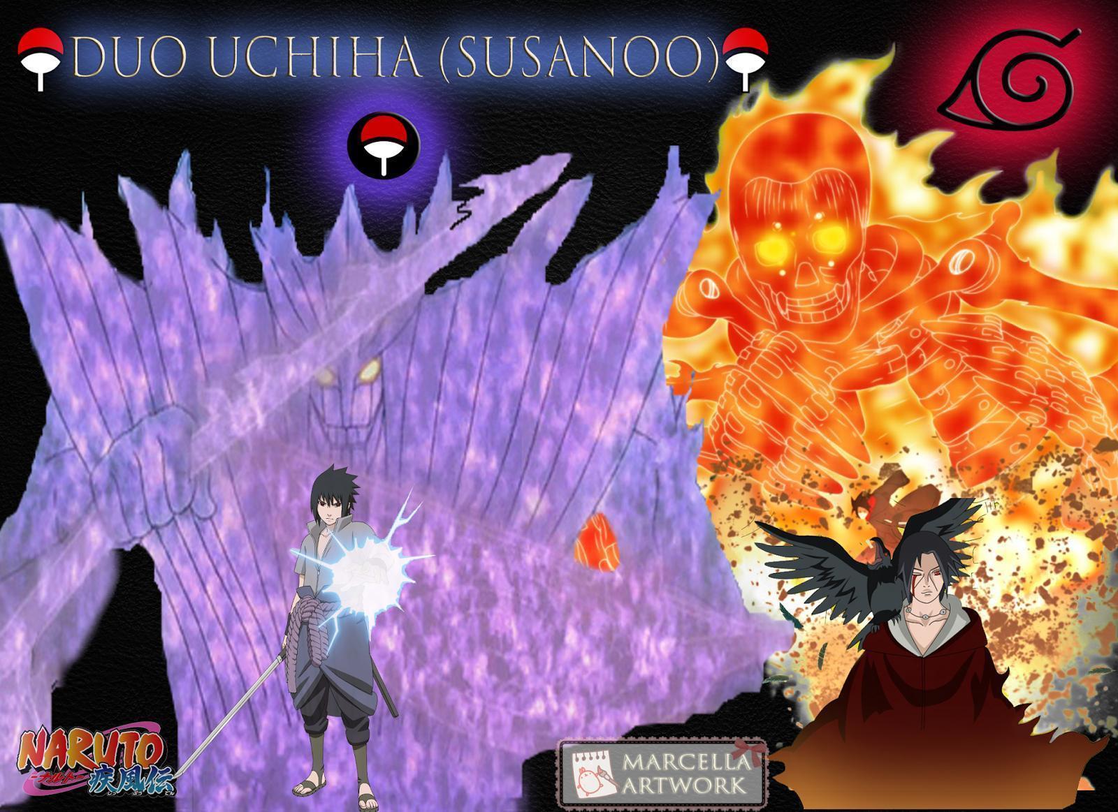 Naruto Kyuubi Mode Wallpaper Hd Itachi Susanoo Wallpapers Wallpaper Cave