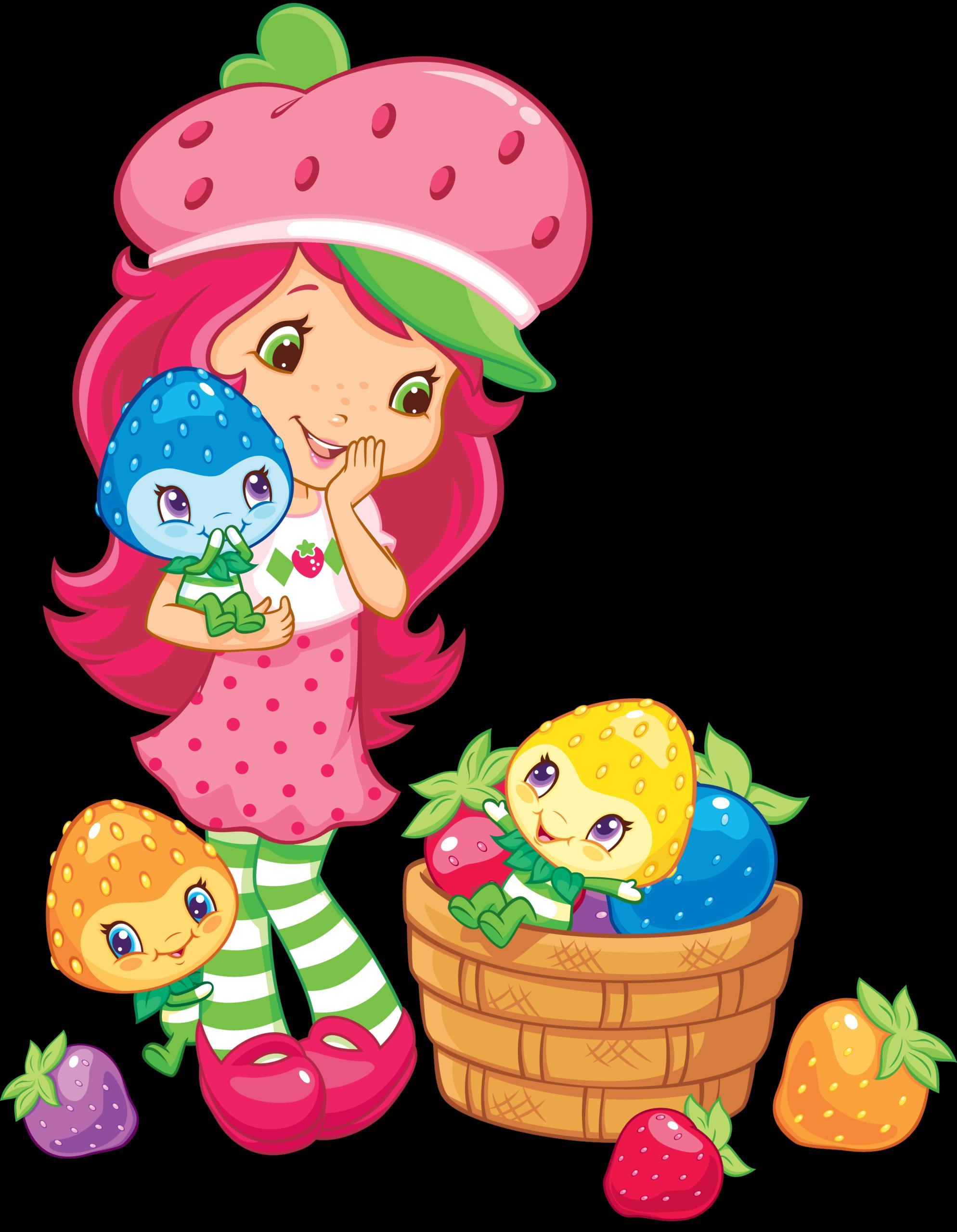 strawberry shortcake backgrounds wallpaper
