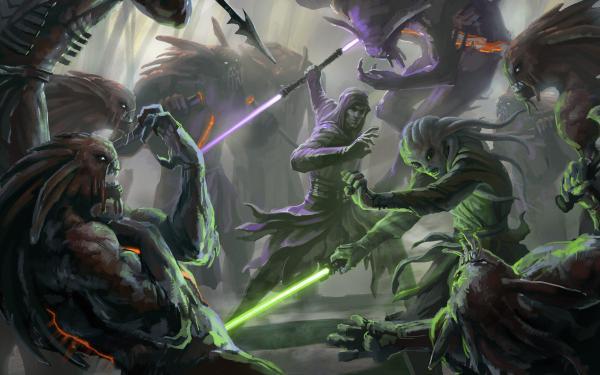 Epic Star Wars Jedi Wallpaper
