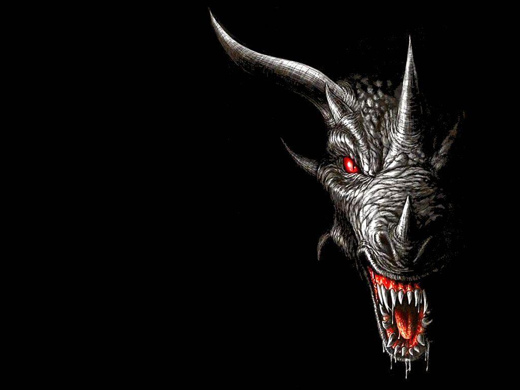 Black Dragon Background Wallpaper