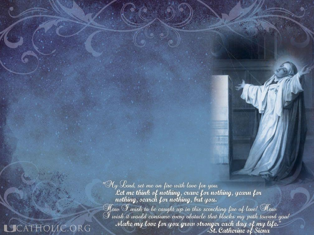 Catholic Quote Wallpaper Catholic Desktop Backgrounds Wallpaper Cave