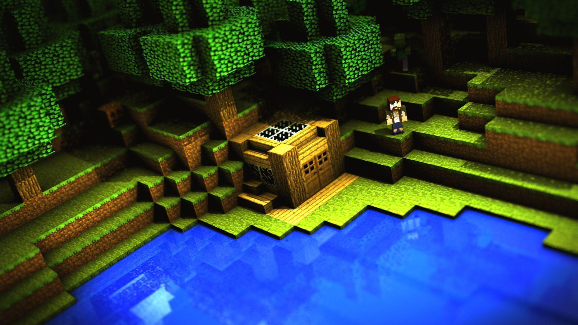 Minecraft Wallpapers For Computer Wallpaper Cave