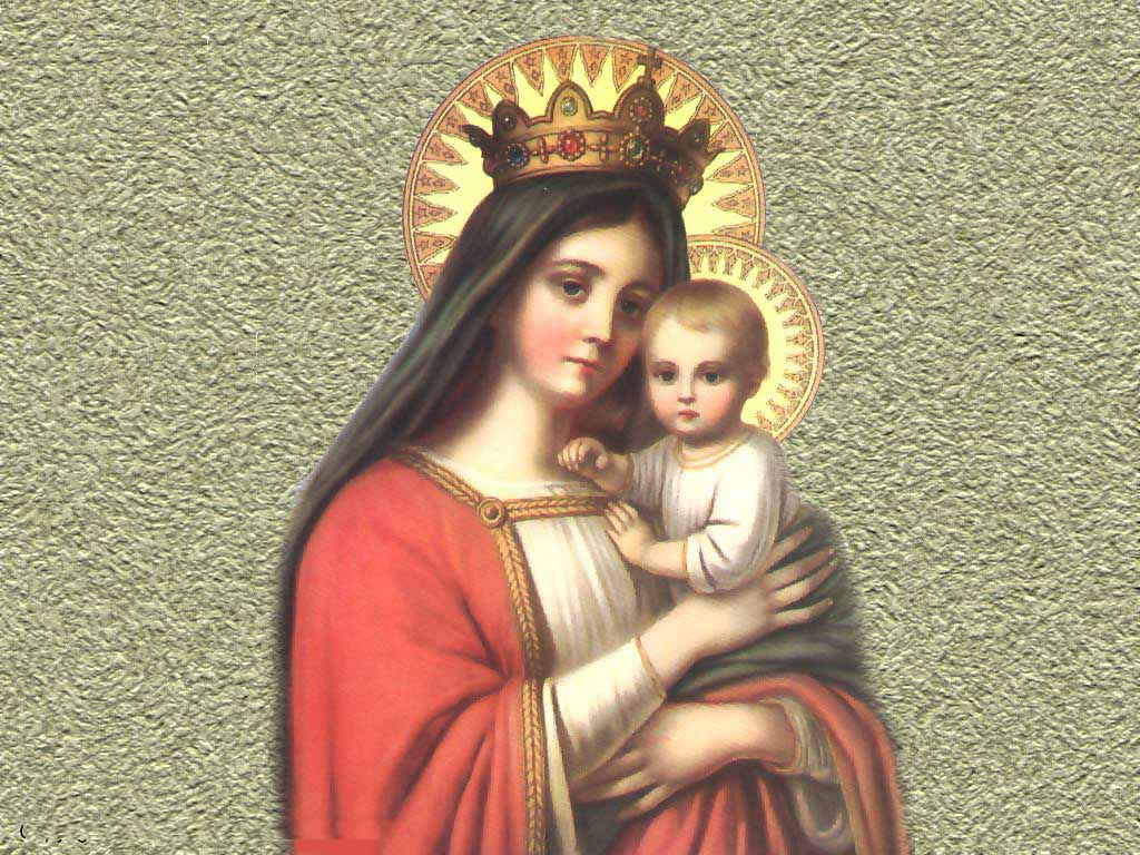 Mother Mary Jesus Wallpapers