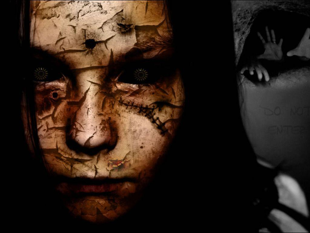 Scary Faces Wallpapers  Wallpaper Cave