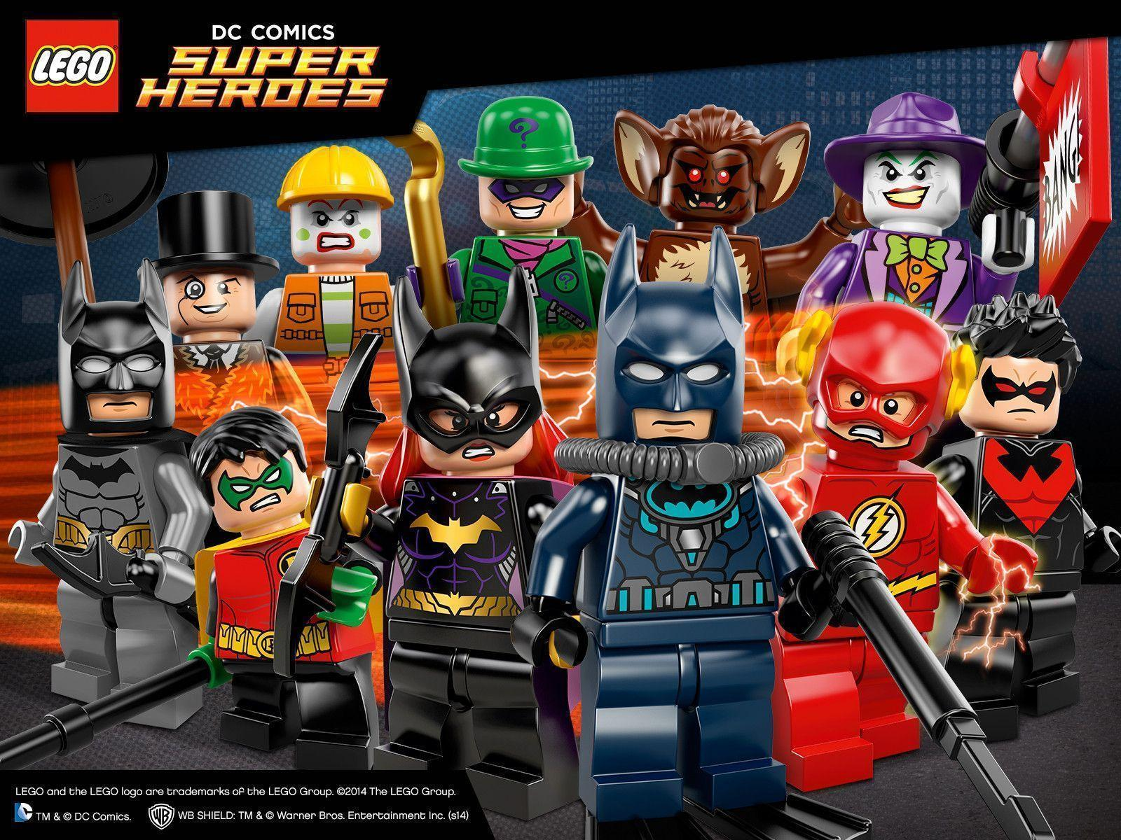 Lego Superheroes Wallpapers