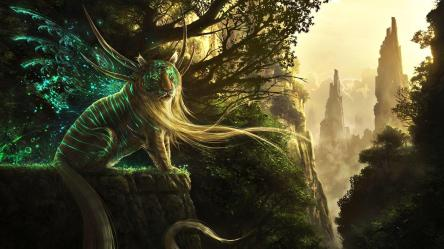 Beautiful Mythical Creatures Wallpaper