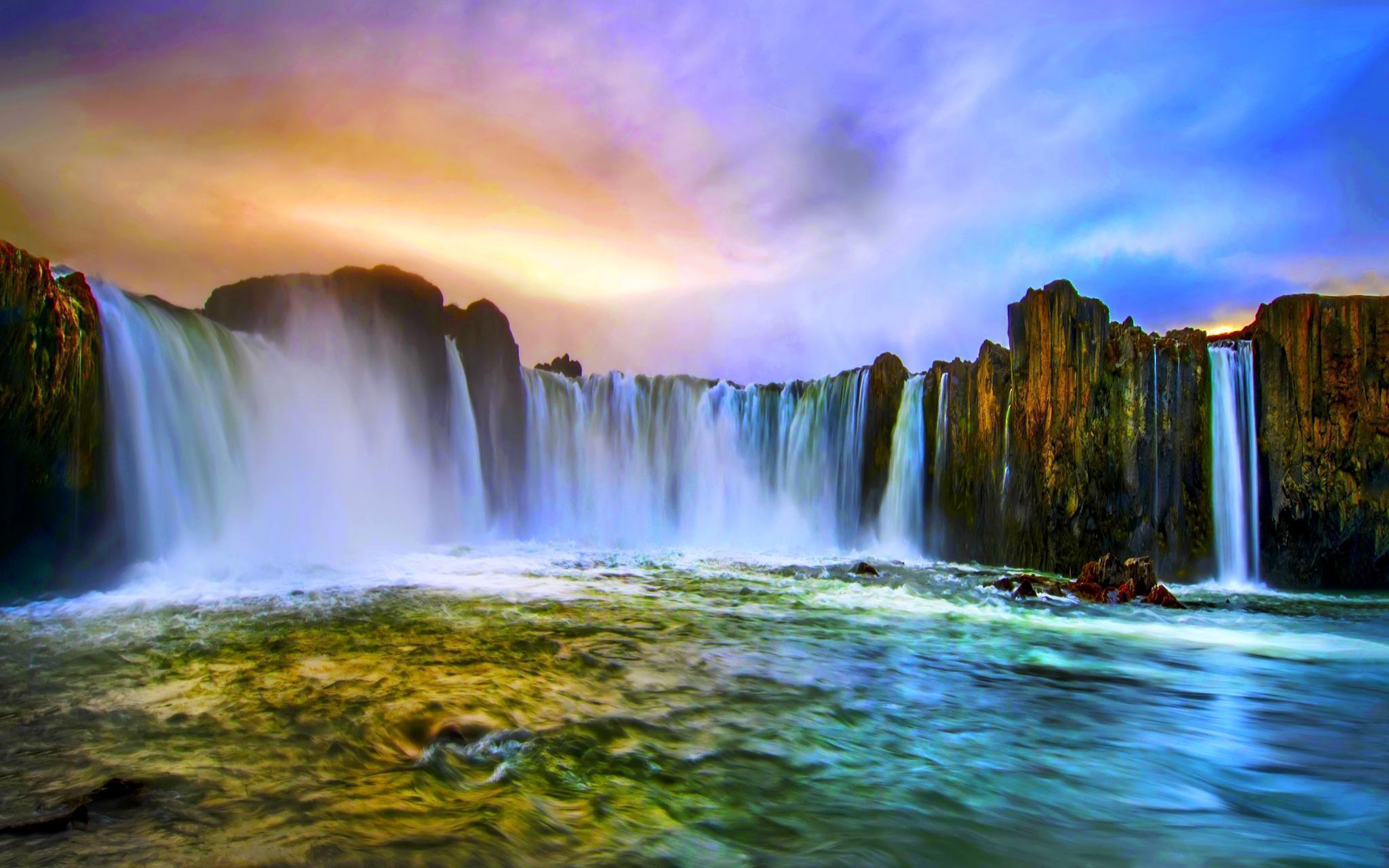 Niagara Falls Hd 1080p Wallpapers Water Falls Wallpapers Wallpaper Cave