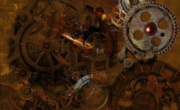 Steampunk Gears Desktop