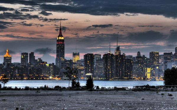 Empire State Building New York City Skyline Wallpaper