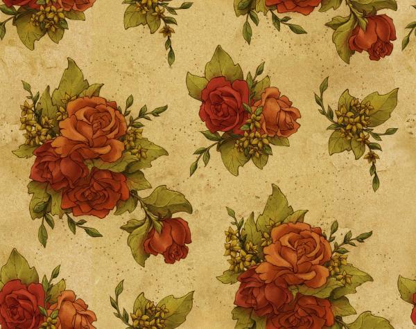 Vintage Floral Design Patterns