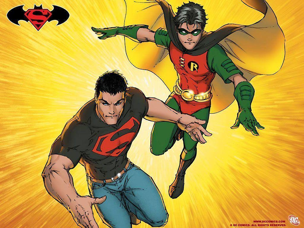 Superman Super Girl Super Boy Wallpaper Superboy Wallpapers Wallpaper Cave