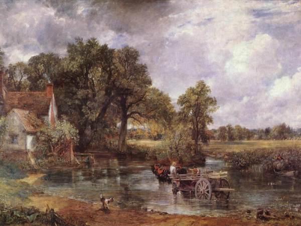 John Constable Hay Wain Painting