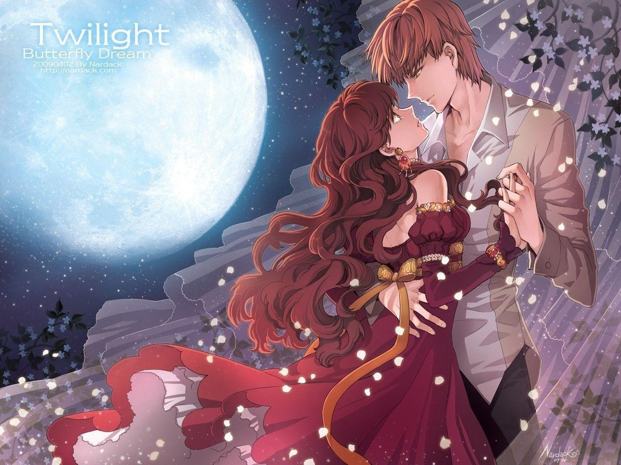 romantic anime wallpapers wallpaper