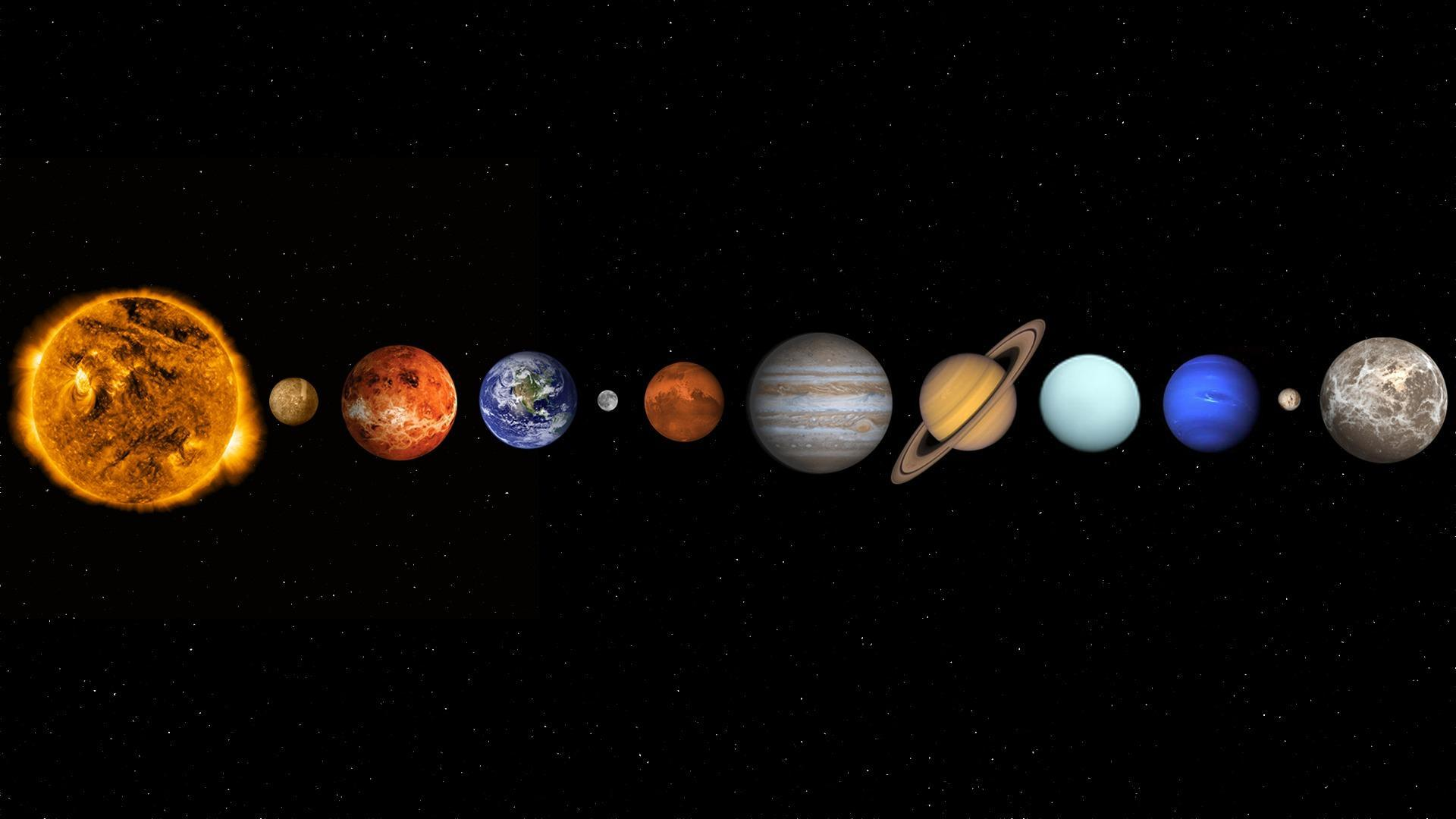Solar System Backgrounds