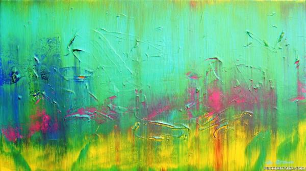 Abstract Art Painting Desktop Backgrounds