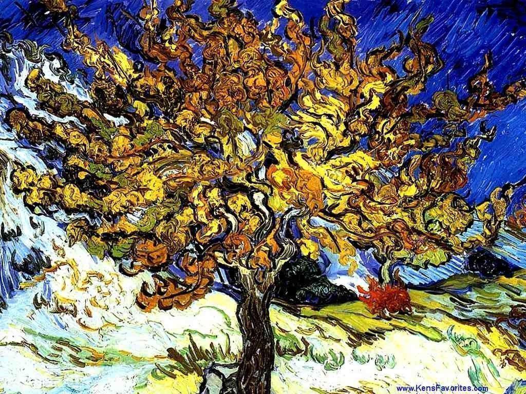 Van Gogh Laptop Background