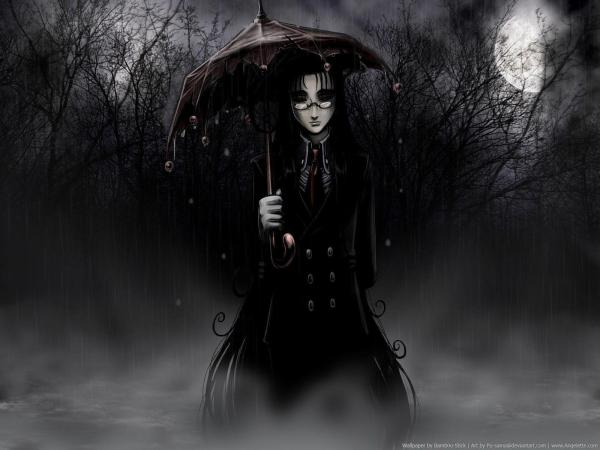 Anime Dark Gothic Art