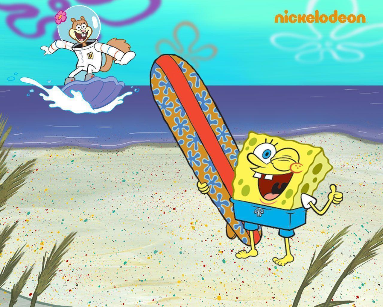 Cute Spongebob Cartoon Wallpaper Spongebob Squarepants Backgrounds Wallpaper Cave