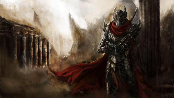 Dark Warrior Art