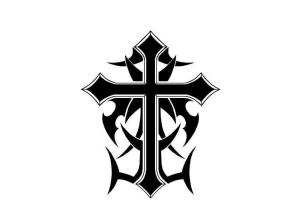 tribal cross cool designs draw crosses background drawings wallpapers tattoo tattoos clipart drawn clipartmag cave clip library wallpapercave