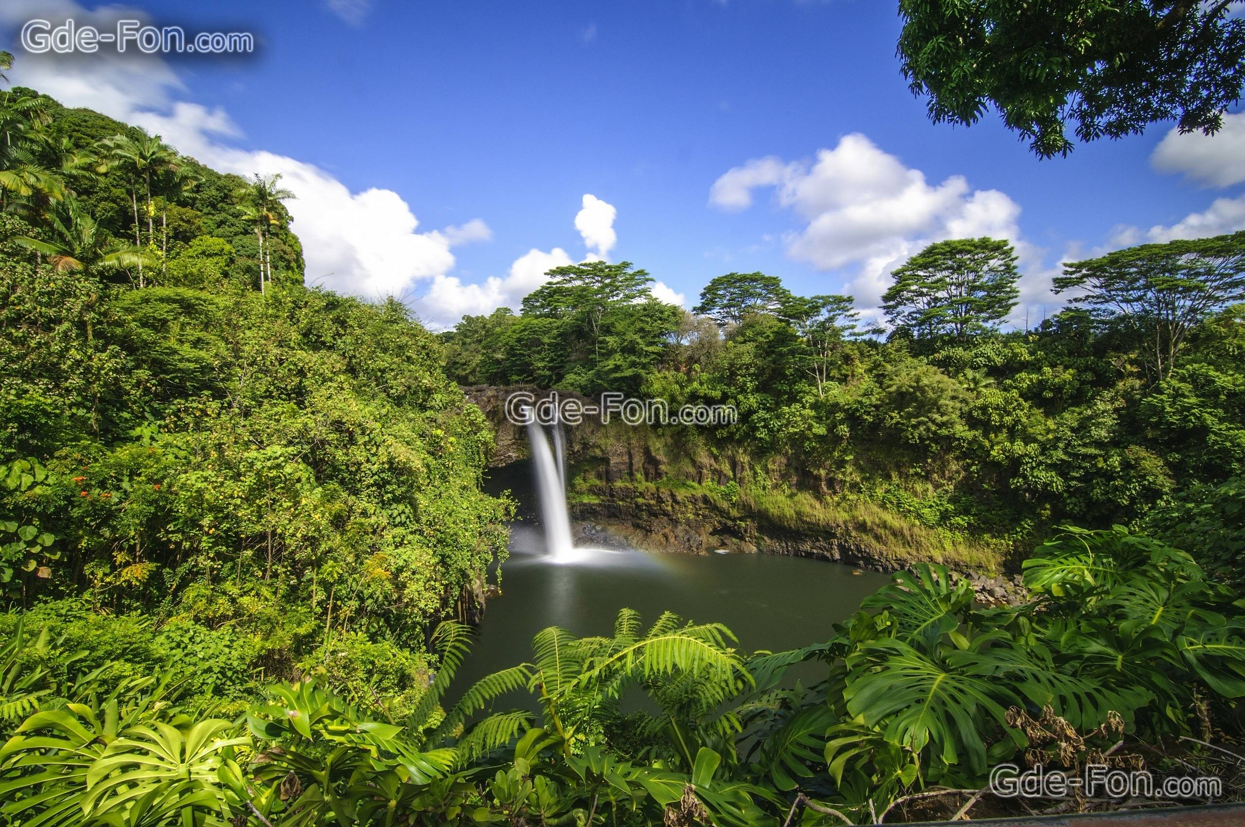 Akaka Falls Wallpaper Free Hawaii Desktop Wallpapers Wallpaper Cave