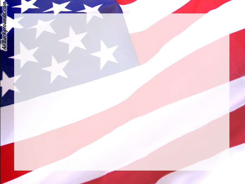 Template 4th July Border