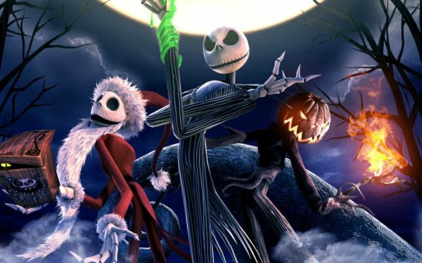 Risultati immagini per jack skeletron re delle zucche
