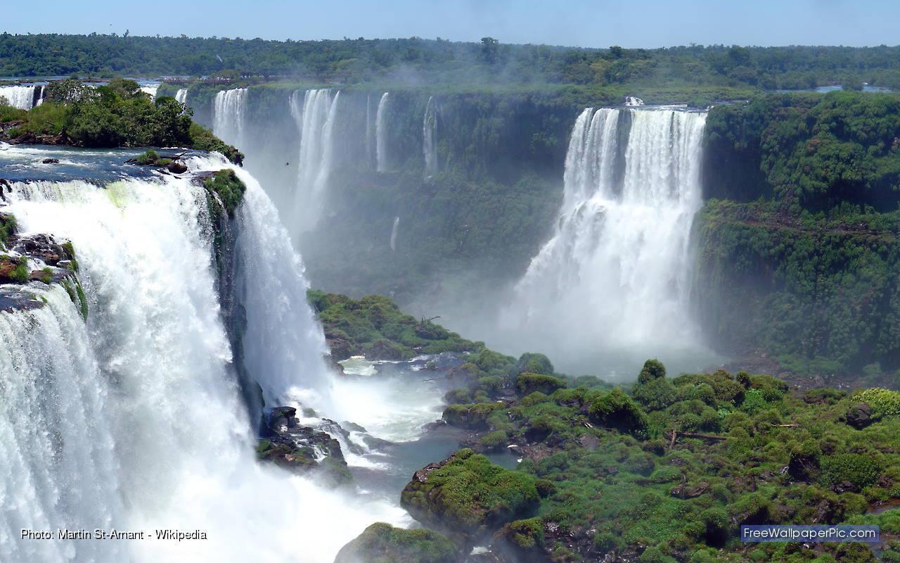 Iguazu Falls Hd Wallpaper Iguazu Falls Wallpapers Wallpaper Cave