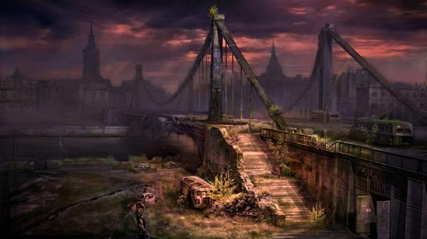 Apocalypse Abandoned City Background For