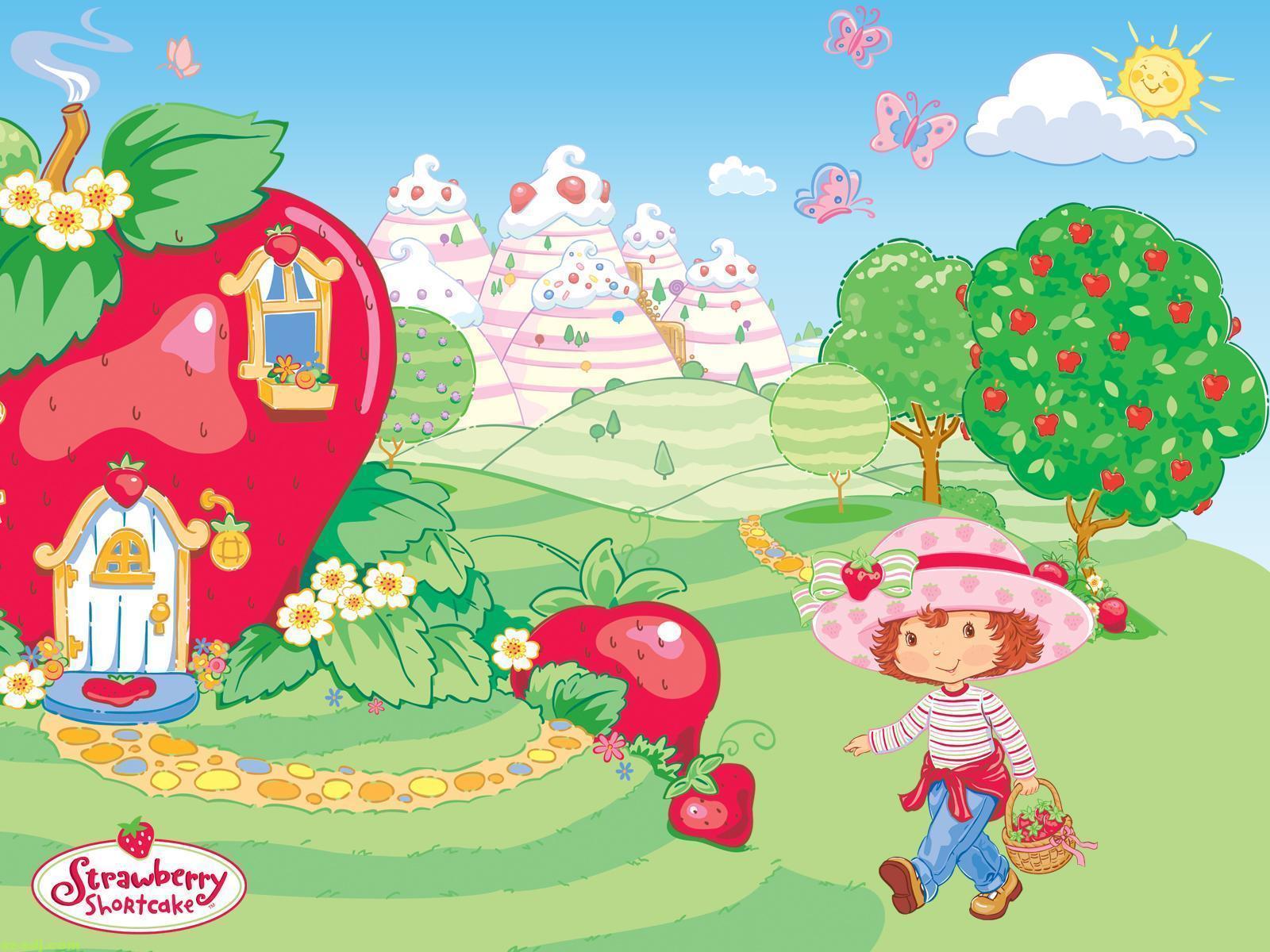 strawberry shortcake wallpapers wallpaper