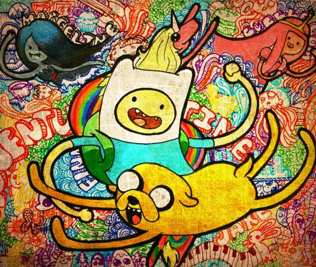 Adventure Time Hd Wallpaper For Iphone Cartoon Hd Wallpapers