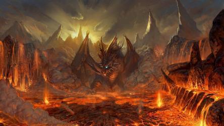 Fire Dragon Wallpapers Wallpaper Cave