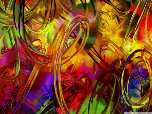 Abstract Art Painting Desktop Backgrounds