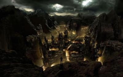 Fantasy City Wallpapers Wallpaper Cave