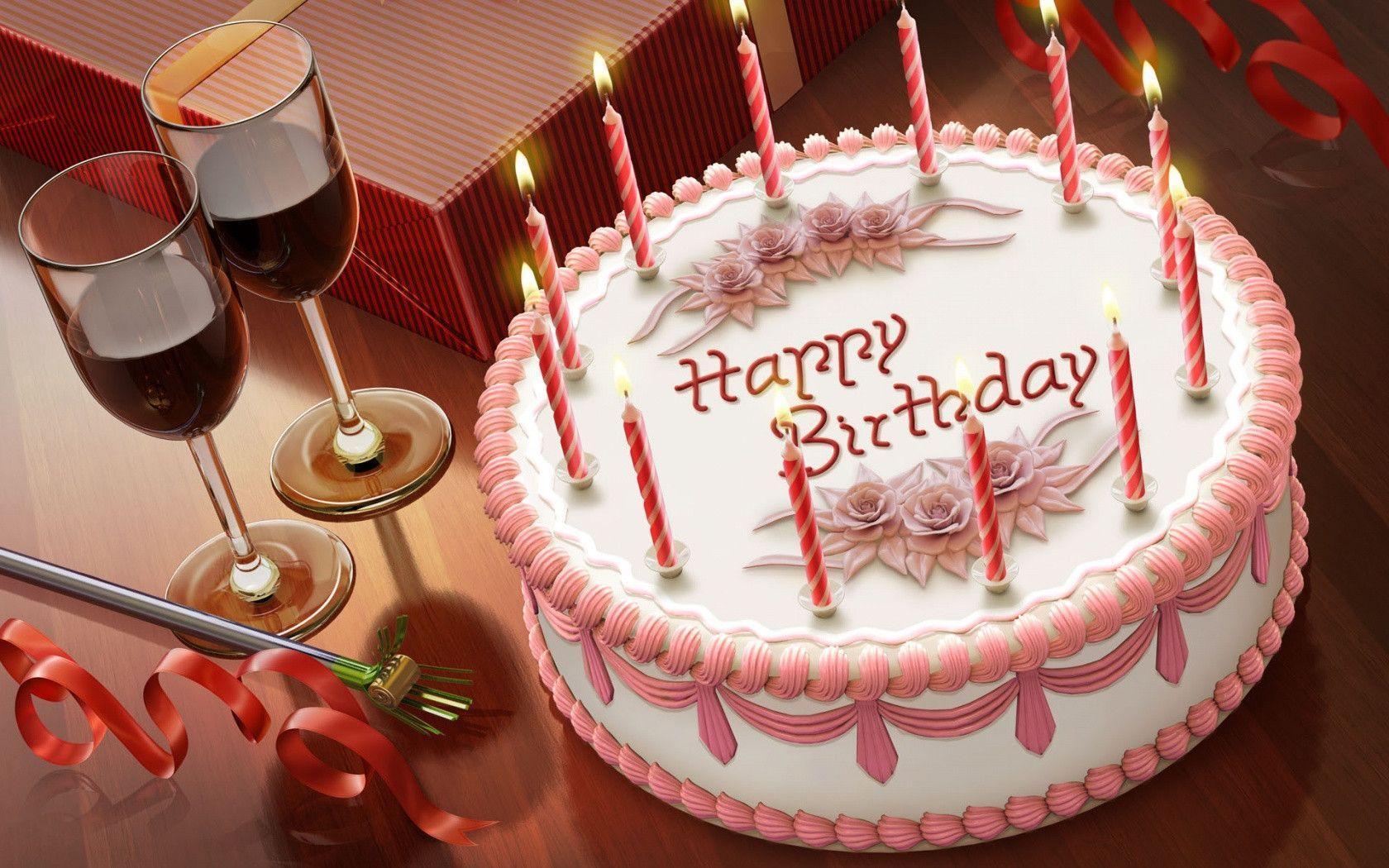 birthday cake screensavers free